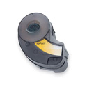 Brady XC-1000-595-WT-BK 1inch x 30 feet Black on White Label Tape