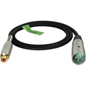 TecNec Premium Quality XLR Male-RCA Female Audio Cable 3Ft