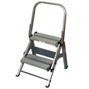 Xtend & Climb WT2 2 Step Folding Safety Step Stool with Handrail