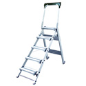 Xtend & Climb WT5 5 Step Folding Safety Step Stool with Handrail