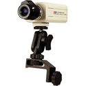 High Resolution 1/3 CCD 520 Line Camera w/3-8mm Lens & Mount Bracket