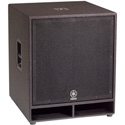 Yamaha CW118V 18-Inch Subwoofer Loudspeaker Spray Finish