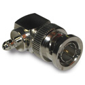 Connex 112179 BNC Right Angle Crimp Plug for RG-179/ RG-187/ 75 Ohm