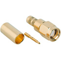 Amphenol 132234 SMA 50 Ohm Straight Crimp Plug RF Connector for LMR-200 BL-7807A