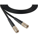 F Male to F Male Belden 1505A RG59 Digital Coax Cable -6ft - BLACK