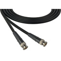 Belden 1505F 3G-SDI/HDTV RG59 BNC Male to BNC Male Cable - 40 Foot - Black