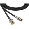 Belden 1505F SDI/HDTV RG59 BNC Male to BNC Female Cable 3 Feet