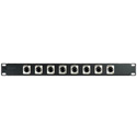 Connectronics 16Pt RJ45 Patch Panel 1RU
