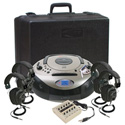 Califone 1886PLC 4-Person Spirit SD Stereo Listening Center