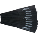 Cord-Lox 3/4in x 6 Inch Hook & Loop Hook & Loop Cable Tie Wrap 10 Pk Black