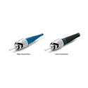 Senko 215-103-K1 Premium 125um SingleMode ST Fiber Connector with Blue 2mm Boot