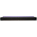 Canare 24DVS-2U 2X24 2RU 75 Ohm HD-SDI Patchbay Straight Through