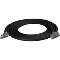 Sescom Built Mogami Digital 25P DSub Male to 25P Dsub Female Audio Cable - Yamaha Extension - 5 Foot