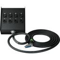 Sescom Built Gepco Digital 25Pin DSub Male to Combo 4 XLR Female and 4 XLR Male