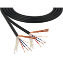 Mogami 2893 4 Conductor 26 AWG Miniature Quad HD Mic Cable - 328 Foot Black