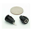 3.5mm 2-Conductor TS Chassis Mount Snap-in Jack