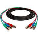 Canare 3-Channel BNC Snake Cable 3Ft
