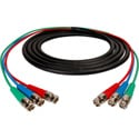 Laird 3BNC-3 Canare 3-Channel BNC Snake Cable 3Ft