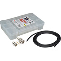 3G BNC Cable Making Kit with 20 Kings BNCs & 100 Foot Belden 1694A RG6