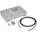 3G BNC Cable Making Kit with 20 Kings BNCs & 100 Foot Belden 1855A Mini-RG59