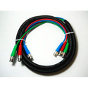 Canare 3VS03-3C 75 Ohm 3-Channel BNC Video Snake 10ft