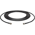 Wi-Fi 802.11 a/b/g Low Loss LMR400 Type N Male to N Male Cable 25Ft