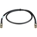 Laird 4794R-B-B-003 12G-SDI/4KUHD Single-Channel BNC to BNC Camera Cable - 3 Foot