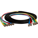 5-Channel BNC Video Snake Cable 6 Foot