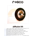 Rosco Diffusion Kit 15 pieces 10in x 12in