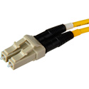 Senko 932-251-2C3 127um Beige MultiMode Duplex LC Fiber Connector 2mm Black Boot