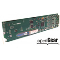 Cobalt 9433-EMDE-ADDA-OE Fiber-Optic OE Receiver with 16-Channel AES / 8-Channel Analog Audio Embed / De-Embed