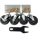 Heavy-Duty Locking Caster Wheel Set for AVC1500