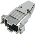 15-Pin High Density and 9-Pin D-Sub Connector Hood - Metal