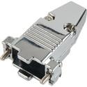 15-Pin High Density and 9-Pin D-Sub Connector Hood - Metal