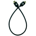 AVProConnect AC-BTJUMP-AUHD Bullet Train 18Gbps HDMI Cable - 20 Inches (.5 meter)