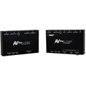 AVPro Edge AC-EX100-UHD-KIT-P 100 Meter HDMI via HDBaseT Extender with Bi-Directional Transmitter & Receiver Included