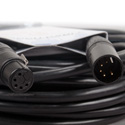 ACCU-CABLE AC5PDMX15PRO 5 Pin Pro DMX Cable - 15 Foot