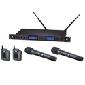 Audio-Technica Dual Wireless Mic Systems