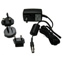 AFP VMDA-PS-5 Power Supply for MC2/ MVMC 110-240 VAC - Output 5VDC 3A. Includes US UK Europe and Australia wall plugs