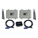 AirNetix ARX-900-2NSK AiRocks Pro 900MHz Multi-Hop Digital Wireless Audio Repeater - 2 Node Distribution System