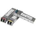 AJA FIBERLC-1RX-MM Single Multi-Mode LC 3G Fiber Rx SFP (for use with FiDO)