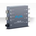 AJA FiDO-4R-X Quad Channel LC Fiber to 3G-SDI Converter - Receiver