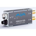 AJA FiDO-R-12G 1-Channel Single-Mode LC Fiber to 12G-SDI Receiver