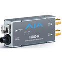 AJA FiDO-R-MM 1-Channel Multi-Mode LC Fiber to 3G-SDI Receiver