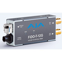 AJA FiDO-T-12G 1-Channel 12G-SDI to Single-Mode LC Fiber Transmitter