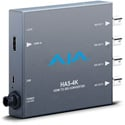 AJA HA5-4K UltraHD/HD HDMI to 4x 3G-SDI Converter