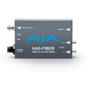 AJA HA5-FIBER HDMI to 3G-SDI Over Fiber Video and Audio Converter (Single Mode - ST)