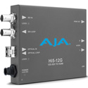 AJA Hi5-12G-TR 12G-SDI to HDMI 2.0 Mini-Converter with Fiber Transceiver