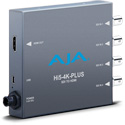AJA Hi5-4K-Plus 4k SDI to 4K HDMI v2.0 Converter (18 Gbps 4K/UltraHD 50/59.94/60) Quad 3G & 1.5G/Dual Link 3G/3G-SDI