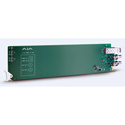 AJA OG-FIBER-2R-MM OpenGear Card 2-Channel Multimode LC Fiber to 3G-SDI Receiver